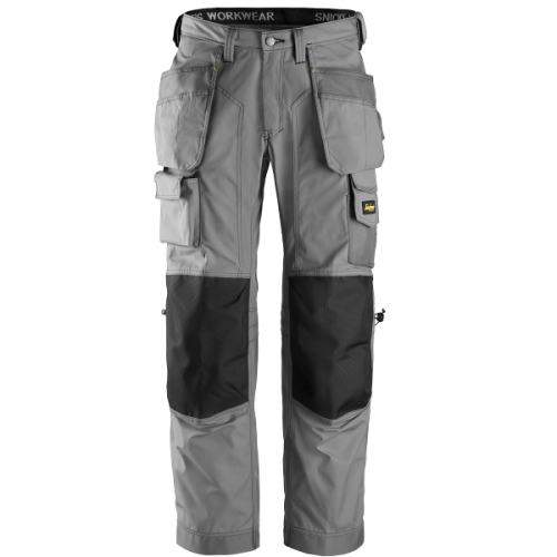 Snickers 3223 Floorlayer Trousers Light Grey