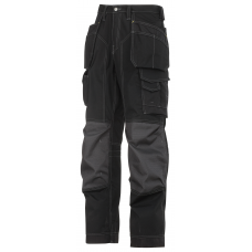 Snickers 3223 Floorlayer Trousers Black