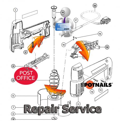 Spotnails Tool Repair Service