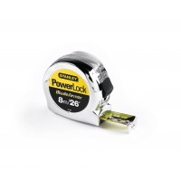 Stanley Powerlock Tape Measure 8m