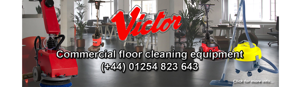 Victor Cleaning Machines