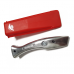 Dolphin Knife in Red Holster