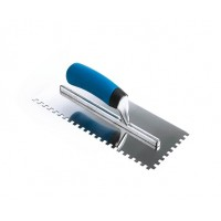 1/4 inch Square Notch Softgrip Trowel