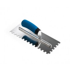 3/8 U Notch  Soft Grip Trowel